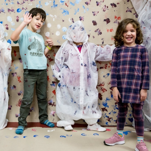 Mozgás és rajz 5-7 éves gyerekeknek a Trafóban