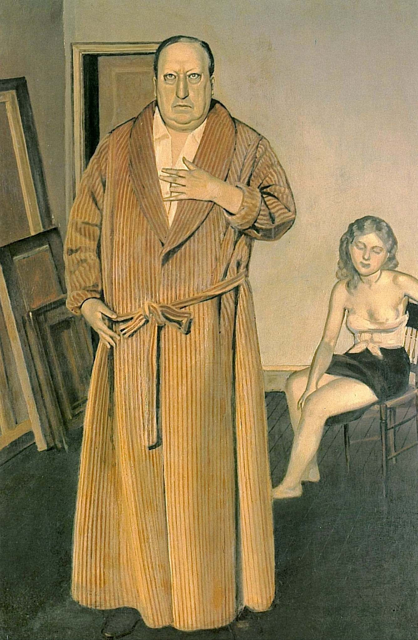 Balthus: Andre Derain, 1936