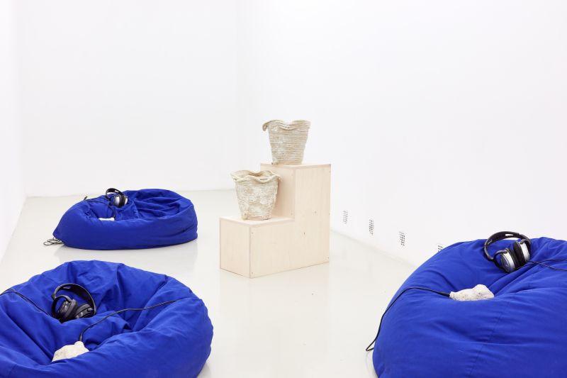 Sissel Marie Tonn: Vízlopók és időadók, 2019. installáció (hang, vegyes technika) | Fotó: Biró Dávid