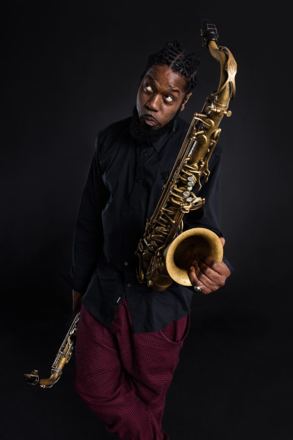 Soweto Kinch trio (UK) – Sax, Riots and racism – vendég: Kardos Négyes