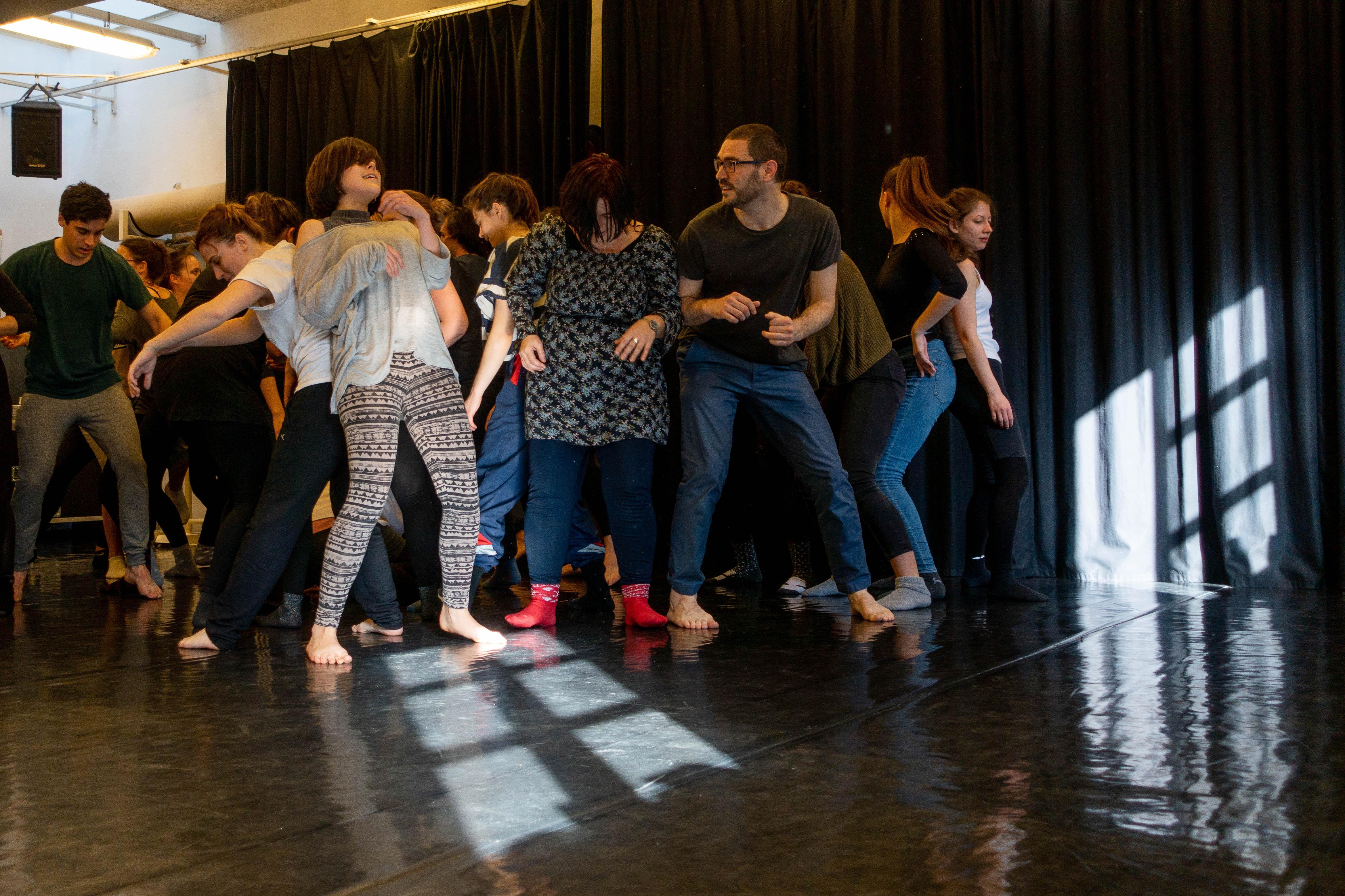 Doris Uhlich tánc nevelési képzése