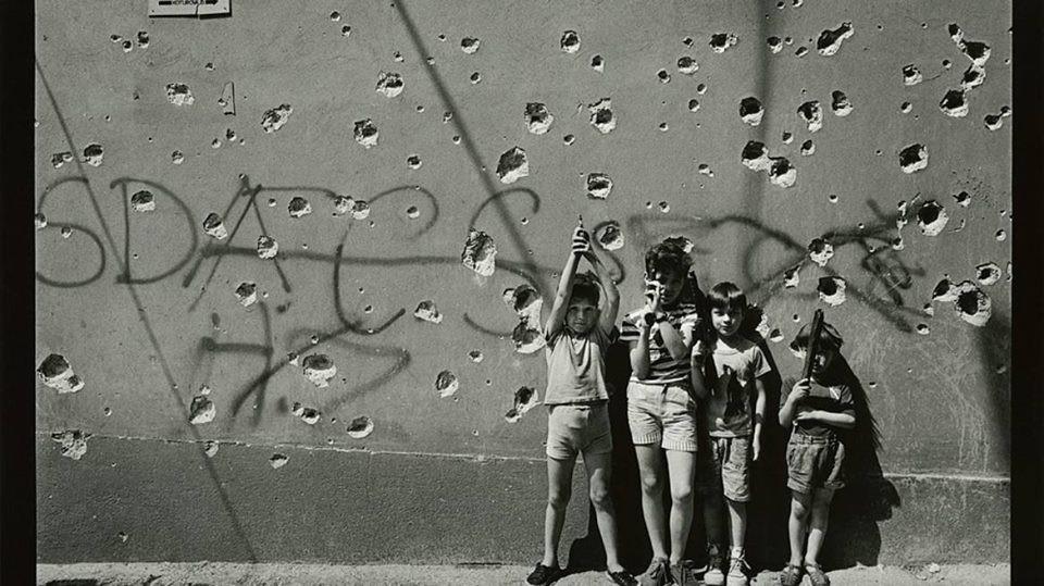 Slika Djeca u ratu Milomir Kovačević Strašni