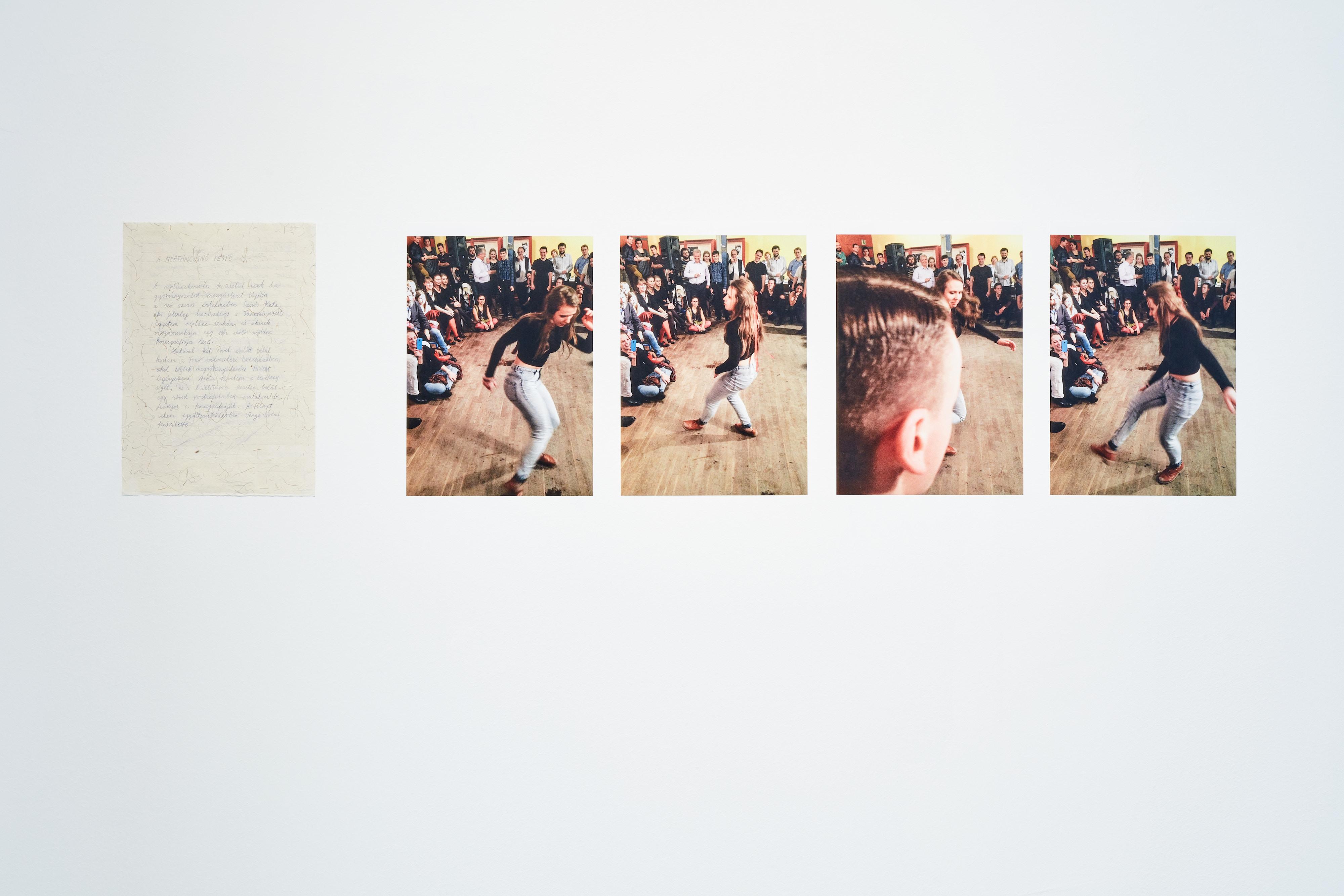 Trapp Dominika együttműködésben Varga Noémivel: A néptáncosnő teste, 2020 (Fotó: Biró Dávid)
