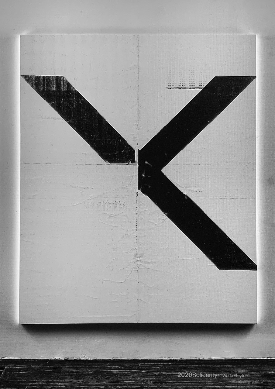 Wade Guyton Untitled (WG3521, 2015) 2020 Offset print on paper 59,4 cm x 42 cm (23.4 x 16.5 in)