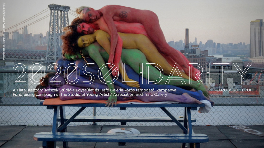 2020Solidarity - about the posters of Bircken, Huyghe, Denny, Wearing, Elmgreen&Dragset, Guyton and Gursky
