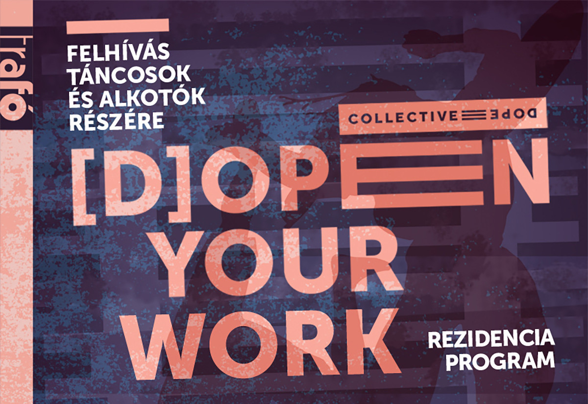 [D]OPEN YOUR WORK  — REZIDENCIA PROGRAM