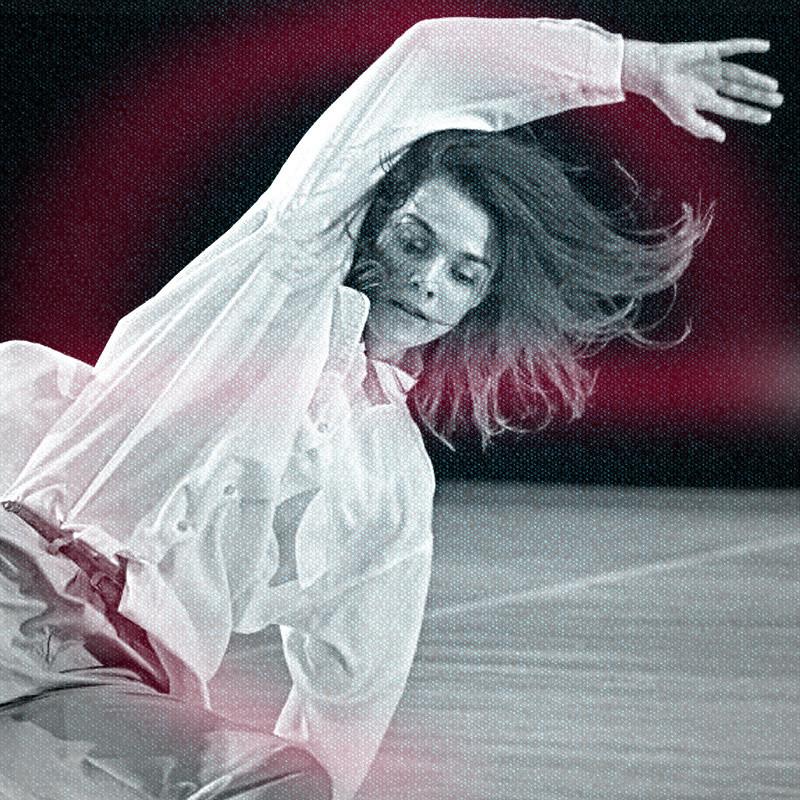 Anett Békési-Szombati: Soft Wave contemporary dance - dance class