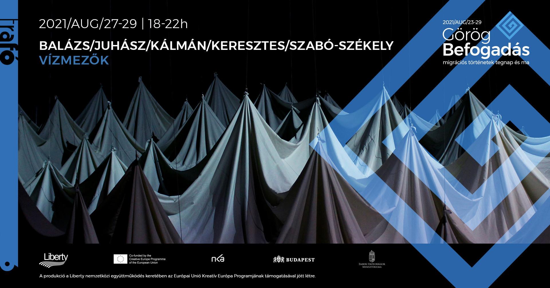 Balázs/Juhász/Kálmán/Keresztes/Szabó-Székely: Vízmezők - immerzív installáció