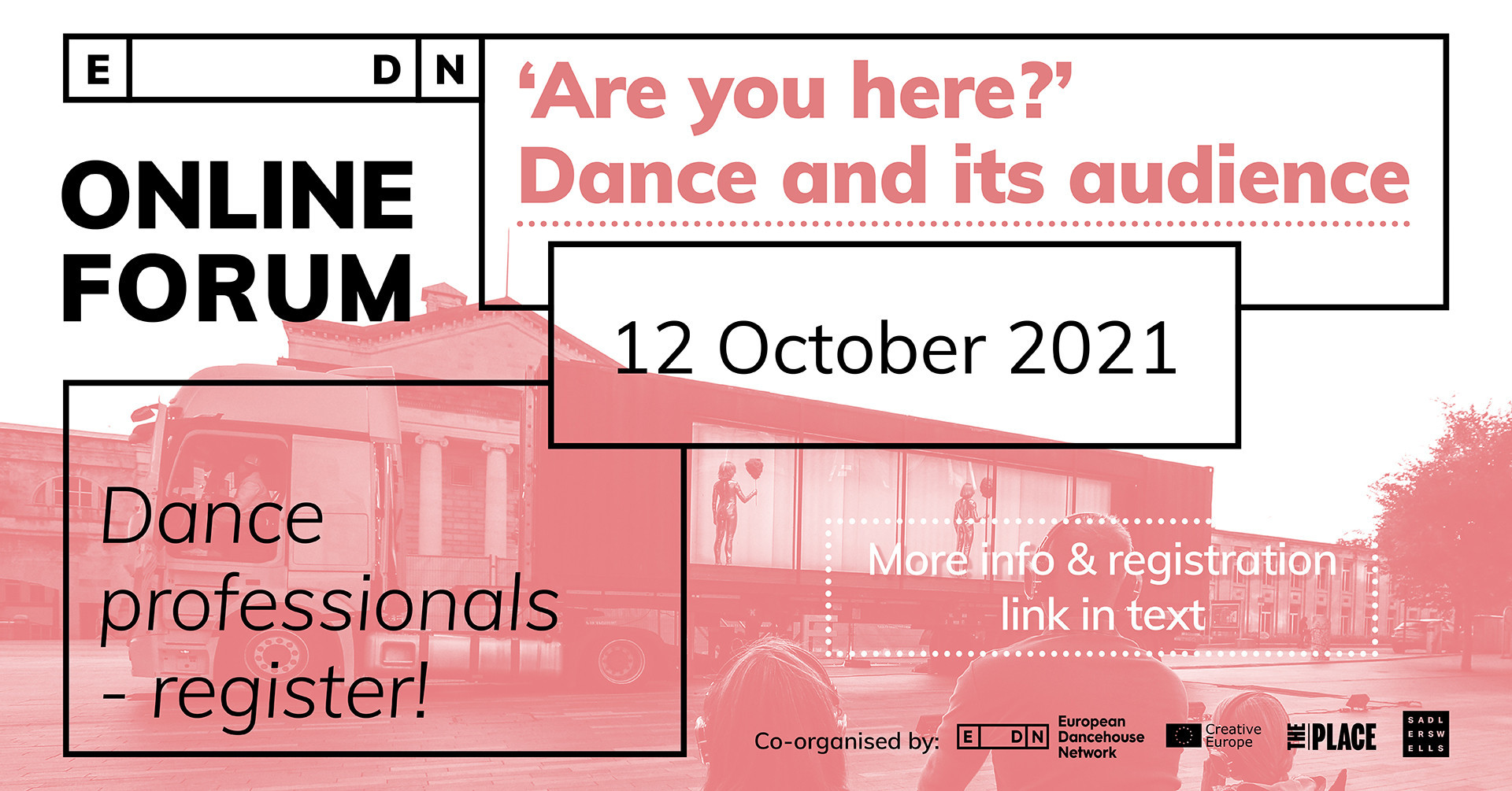 """EDN Online Forum """"Are you here? Dance and its audience"""""""