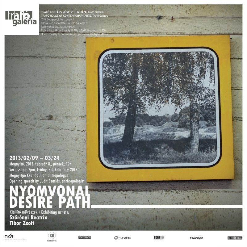 Nyomvonal - Szörényi Beatrix és Tibor Zsolt kiállítása