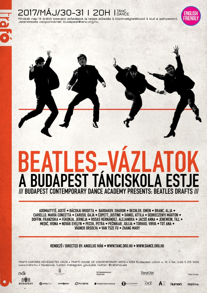 Budapest Contemporary Dance Academy presents: THE BEATLES DRAFTS